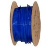 "1/4"" OD x .040"" Wall Blue Excelon Polyethylene Tubing"
