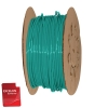 "1/4"" OD x .040"" Wall Green Excelon Polyethylene Flexible Tubing"