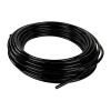 "0.250"" ID x 3/8"" OD Black Flexible Nylon 12 Tubing"