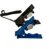 Black Plastic Tubing Cutter with Leash