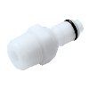 "1/4"" NPT APC Series Acetal Insert - Shutoff (Body Sold Separately)"