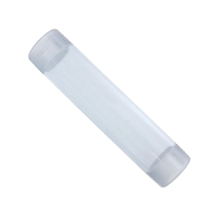 "1/2"" x 3"" Clear PVC Pipe Nipple"