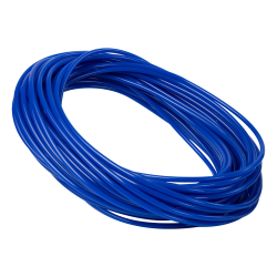 """1/4"""" ID x 3/8"""" OD x 1/16"""" Wall Blue Polyurethane Tubing"""