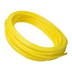"3/16"" ID x 5/16"" OD x 1/16"" Wall Yellow Polyurethane Tubing"
