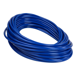 Opaque Blue PVC Tubing
