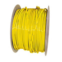 "3/8"" OD x .062"" Wall Yellow Excelon Polyethylene Tubing"