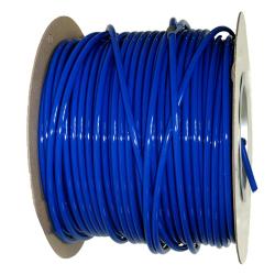 "1/2"" OD x .062"" Wall Blue Excelon Polyethylene Tubing"