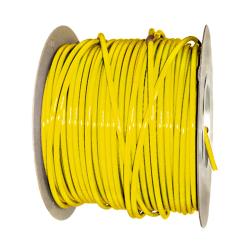 "1/2"" OD x .062"" Wall Yellow Excelon Polyethylene Tubing"