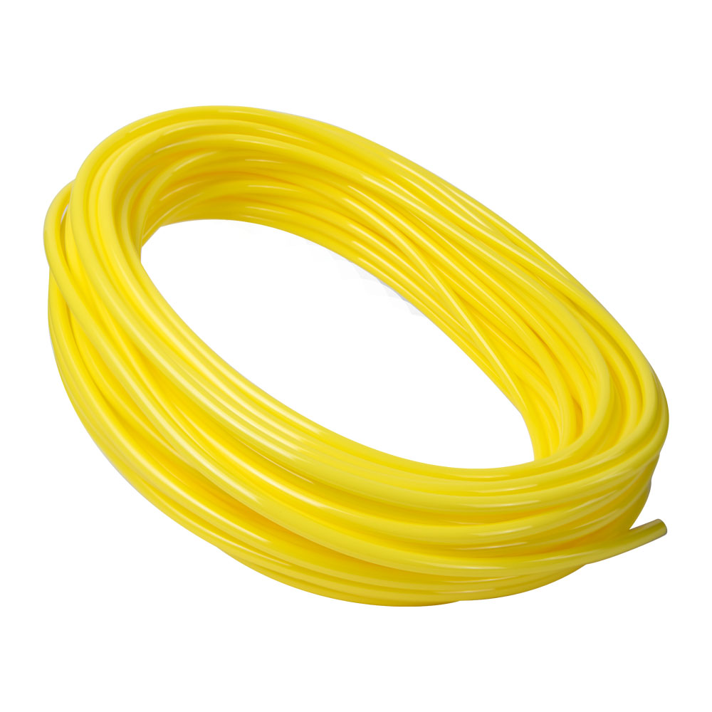 Opaque Yellow Polyurethane Tubing