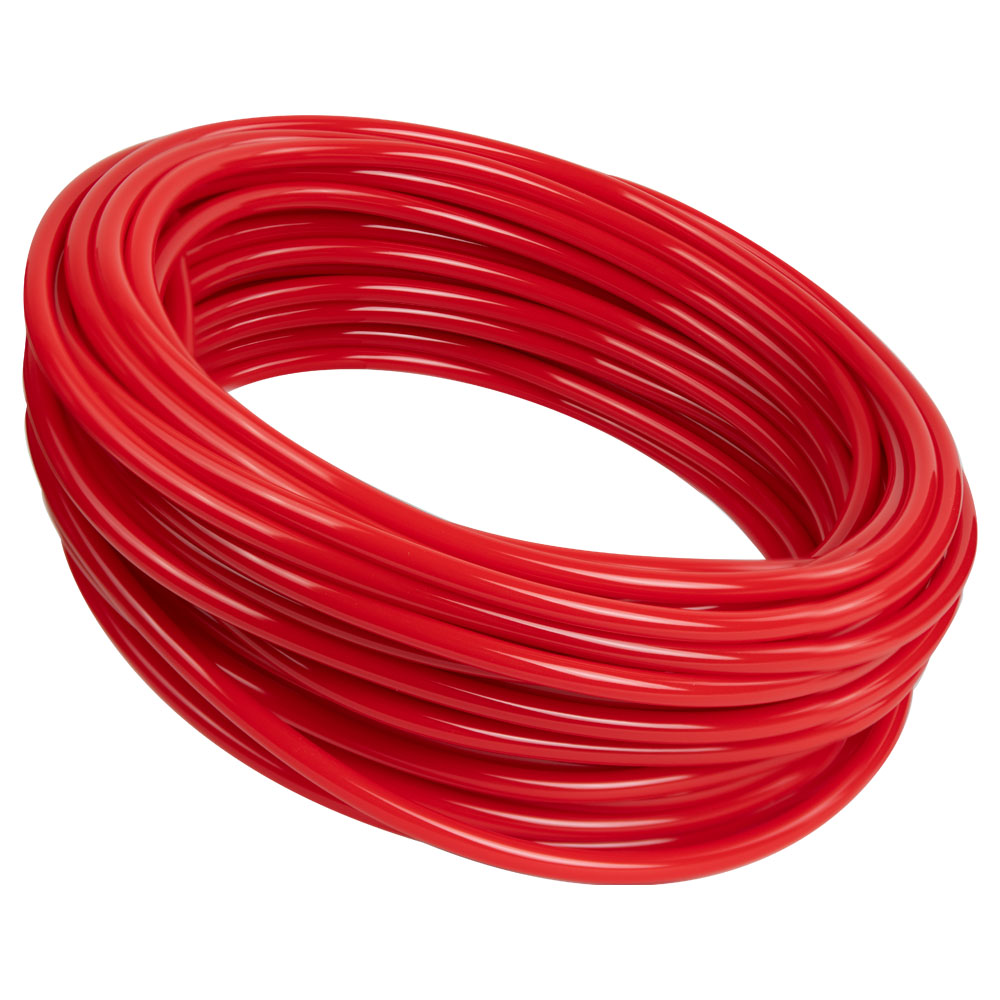 Opaque Red PVC Tubing