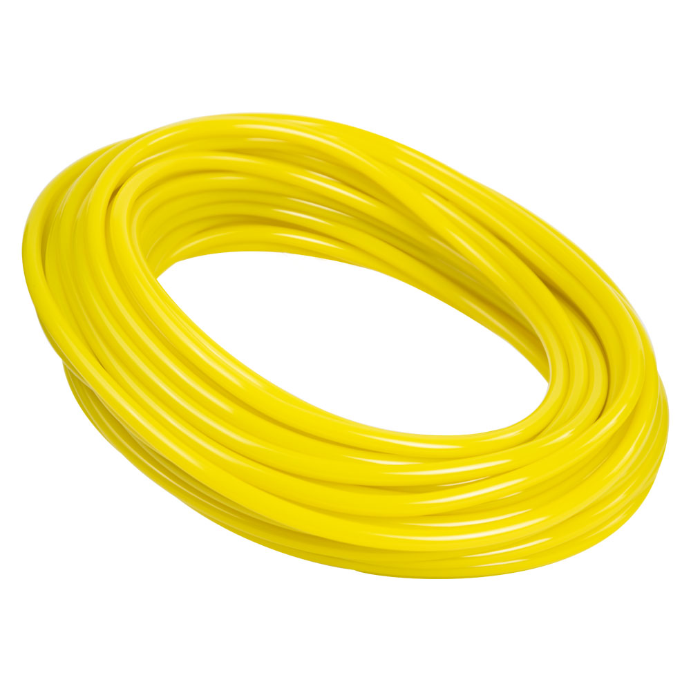 Opaque Yellow PVC Tubing