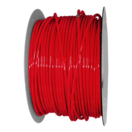"3/8"" OD x .062"" Wall Red Excelon Polyethylene Tubing"