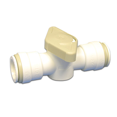 "1/2"" CTS Acetal Straight Shut-Off Valve"
