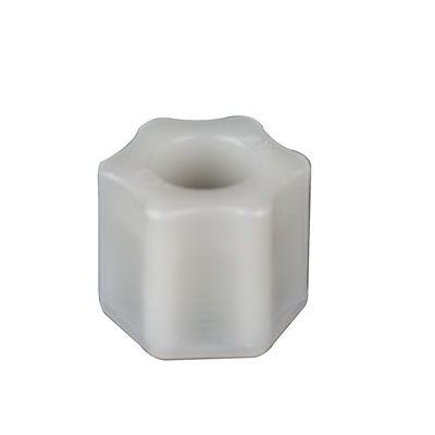 "3/8"" OD Tube Jaco Polypropylene Nut"