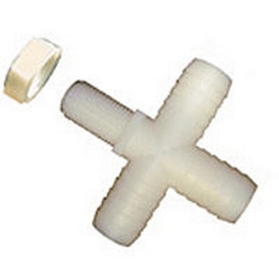 "Nylon Crosses with 11/16"" UN Hex Lock Nuts"