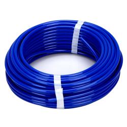 "0.170"" ID x 1/4"" OD x 0.040"" Wall Blue LLDPE Tubing"