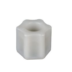 "1/2"" OD Tube Jaco Nylon Nut"