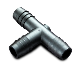 Black High Density Polyethylene Tube Fittings