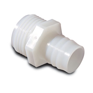 Nylon Adapter Hose Barb x GHT