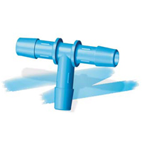 Eldon James™ Antimicrobial HDPE Hosebarb Tees