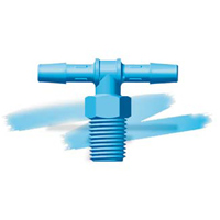 Eldon James™ Antimicrobial HDPE Threaded Tees