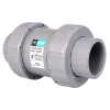 "1/2"" Threaded/Socket TC Series CPVC True Union Ball Check Valve"