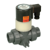 "1/4"" CPVC Hayward® SV Series Solenoid Valve with FPM Seal"