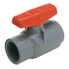 "1/2"" Threaded PVC Compact Industrial Ball Valves"