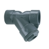 "1-1/2"" YS Series Threaded PVC Y-Style Strainer"