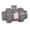 "1/2"" HCTB Series True Union Ball Valves for Actuation with EPDM O-rings"