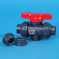 Asahi® Type 21 PVC & PVDF True Union Ball Valves