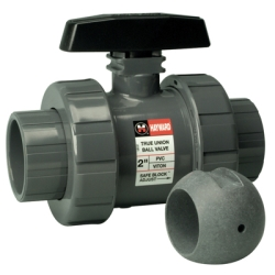 "Hayward® TBZ Series True Union ""Z-Ball"" Valves for Sodium Hypochlorite"