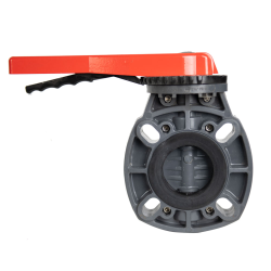 """2"""" - 2-1/2"""" Classic Butterfly Valve with Lever Handle & EPDM O-ring"""