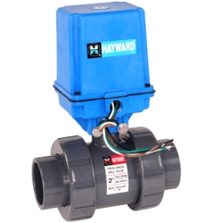 Hayward® EATB Series Electric Actuator & True Union Ball Valves
