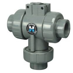 Hayward® HCTW Series PVC Three-Way Valves for Actuation