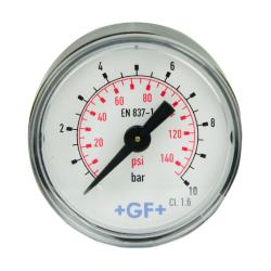 Brass Pressure Gauge 150 PSI