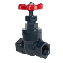 "1/2"" Threaded PVC Globe Valve"