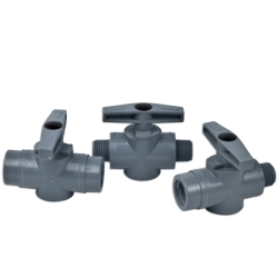 SMC 628 Series PVC Two-Way Ball Valves