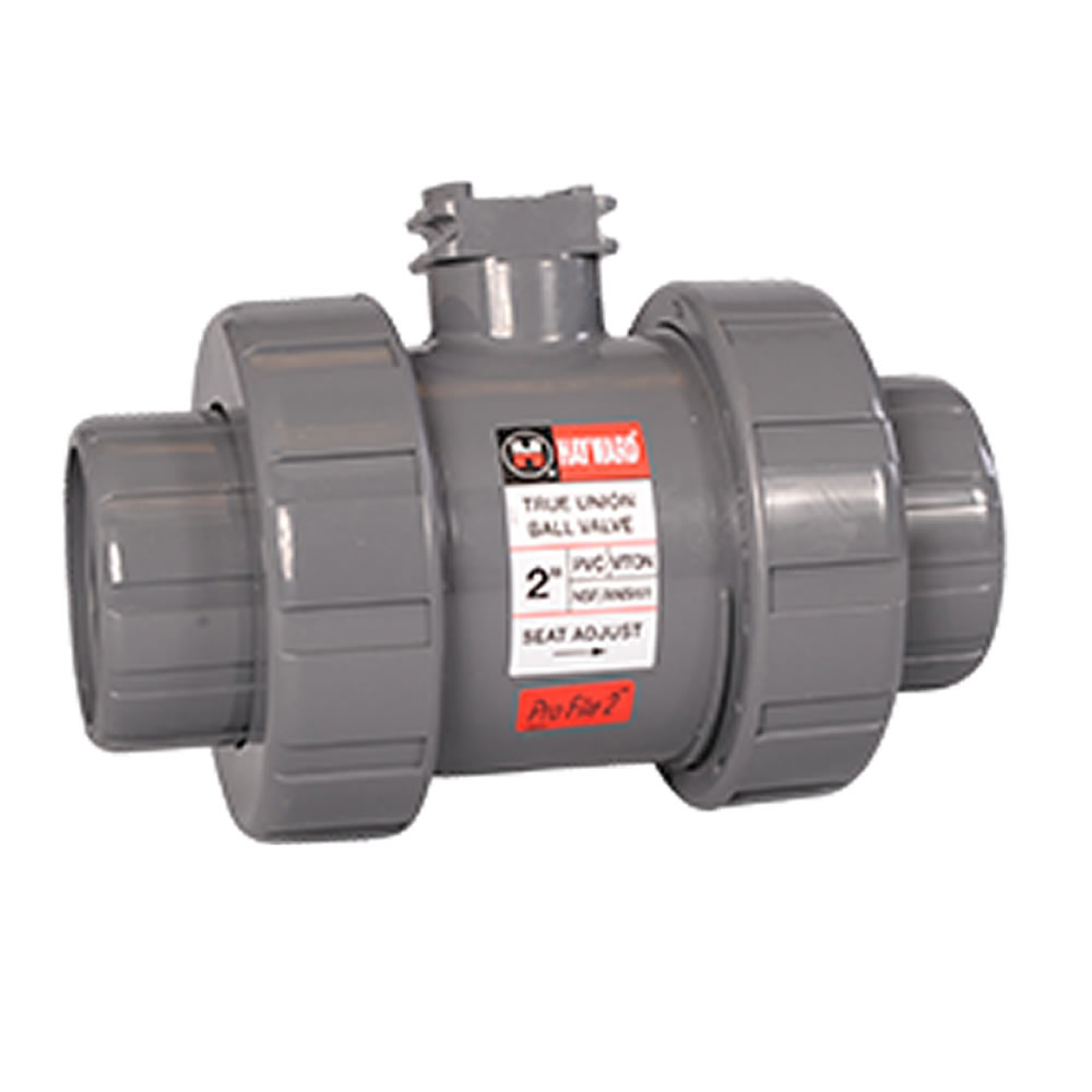 Hayward® HCTB Series True Union Ball Valves for Actuation