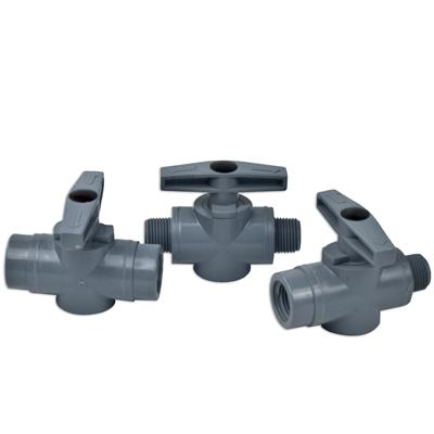 SMC 628 Series PVC Two-Way Ball Valves